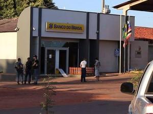 Agência do Banco do Brasil da cidade de Riachão