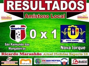 cea0019840bd7 Nesta tarde de domingo (27) a seleção de futebol de São Raimundo das  Mangabeiras foi escala após três anos fora dos campos, contra a seleção de  Nova Iorque ...