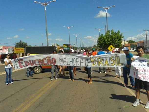 Greve no IFMA de São Raimundo das Mangabeiras